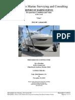 2012 40' Azimut 40S - Sample Survey Report