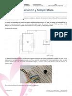 Ficha Arduino - 06 Iluminación y Temperatura