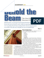 Behold the Beam, Part Two (August)