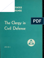 (1951) The Clergy in Civil Defense
