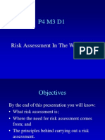 Powerpoint on Risk Assessment