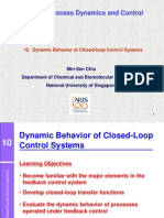 10. Closed-loop Dynamics - 2013