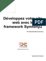 Developpez Votre Site Web Avec Le Framework Symfony2