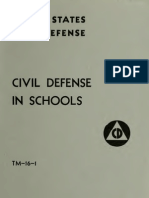 (1952) Civil Defense in Schools