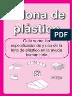 La Lona de Plástico (Para Tiendas de Campaña)