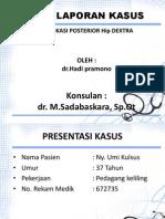 Presentasi Lapsus Dislokasi Hip Ppt