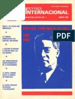 Revista Internacional- Enero de 1983 - Edición Chilena