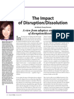 The Impact of Disruption MCS Article in At