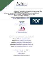 Autism - Trait EI (2011).pdf