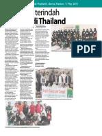 Kenangan Terindah Berbakti Di Thailand Berita Harian