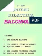 Apuntes Balonmano