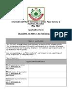Application Form FINAL