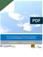Retos Estructurales de la Economia de Gipuzkoa. LO ECONOMICO Y LO SOCIAL