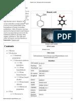 Benzoic Acid - Wikipedia, The Free Encyclopedia