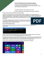 Crear Imagen de Windows 8 Con Pantalla de Inicio y Perfil Personalizado Alumnos