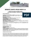 Oferta de Arena Negra Minera Santa Rosa Msr Sa 2
