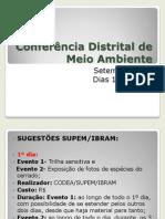 Conferência Distrital de Meio Ambiente