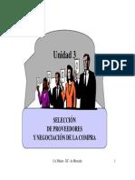 U3.Selección de Proveedores y Negociación de La Compra