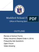 Modified School Forms Official Presentation