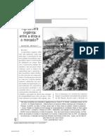 Agricultura Orgânica Ética
