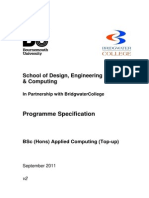 BSc Applied Computing Programme Spec v2 Sept 2011.docx