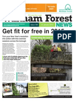 Waltham Forest News 12th January 2015