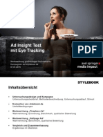 Ad Insight Test auf Stylebook.de