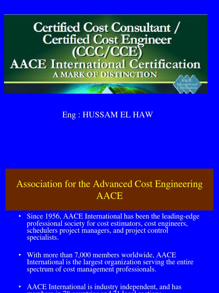 Cce Hussam 1 Professional Certification Engineer