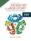 Boyer Biochemistry Laboratory Modern Theory and Techniques 2nd Txtbk Copy
