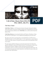 Articol Call of Duty Ghosts Hack