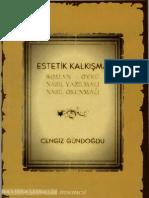 Cengiz Gündoğdu - Estetik Kalkışma - İnsancıl Yay.