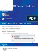 Building a SQL Server Test Lab