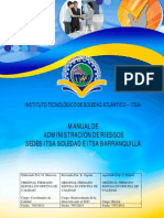 Manual de Administracion de Riezgos