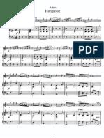 Adam - Hongroise (Piano) score 1