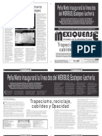 Diario El mexiquense 12 enero 2015