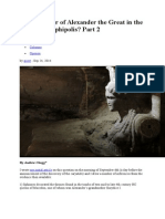 Is the Mother of Alexander the Great in the Tomb at Amphipolis.doc