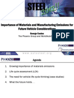 Growing Importance of Materials and Manufacturing Emissions