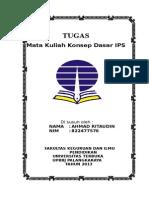 Cover Tugas Kuliah Ips