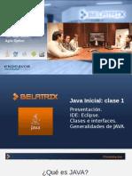 Java Inicial para principiantes