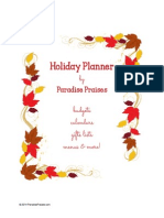 2014 Holiday Planner