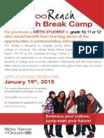 Infinite Reach March Break Camp 2015
