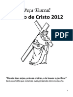 Texto Teatral a Paixão de Cristo