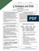 u4w4reading skills and strategies