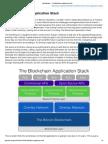 Joel Monegro — the Blockchain Application Stack