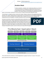Joel Monegro — the Blockchain Application Stack
