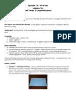 portfoliolessonplan