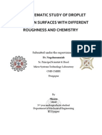 A Systematic Study on Wetting Properties of Solids With Differnrent Chemistry and Roughness (Autosaved)