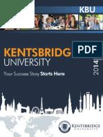 Kentsbridge University Brochure