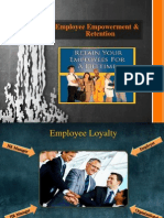 Revised Employee Empowerment & Retention