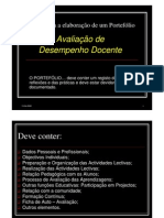 DICAS PARA ELABORAÇÃO DE UM PORTEFÓLIO DE AVALIAÇÃO DE PROFESSORES